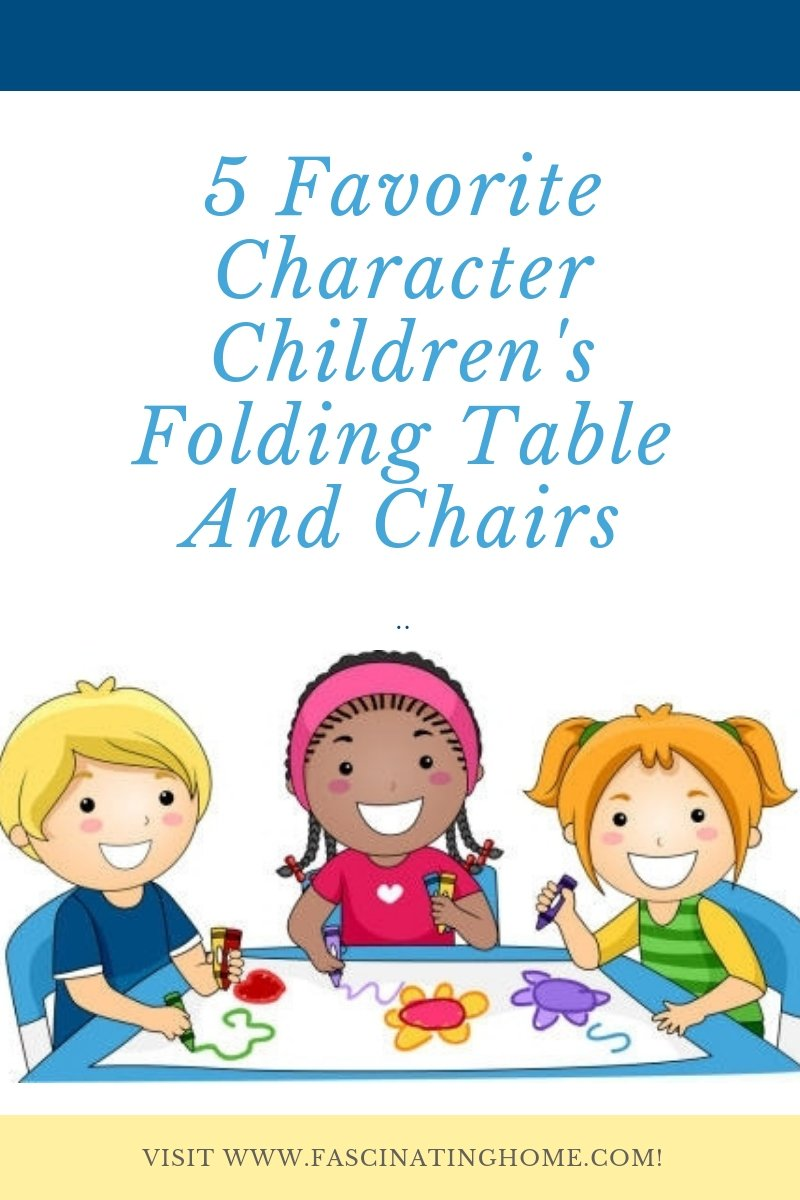 Childrens Folding Table And Chairs Fascinating Home