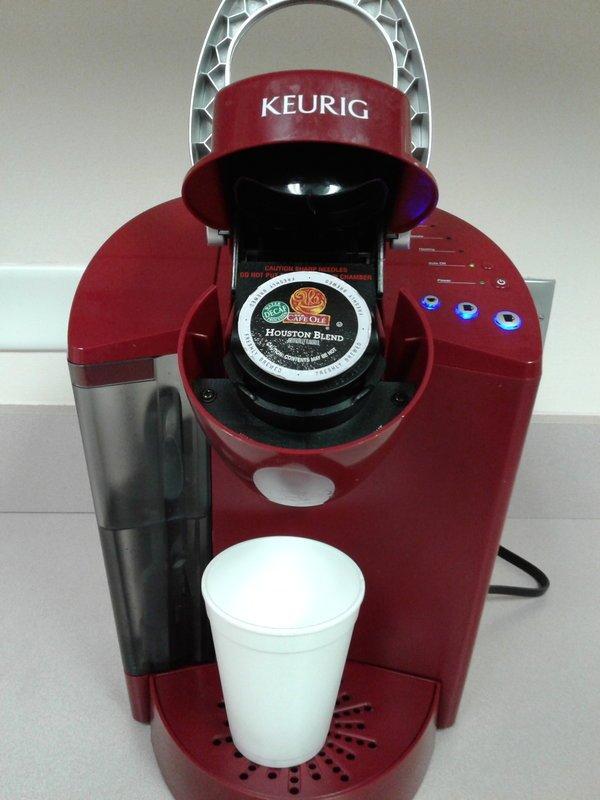 Red Office Keurig K55 Coffee Maker