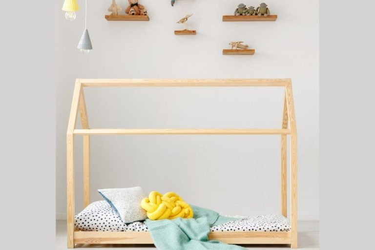 Toddler Bed Frame In Shape Of A House