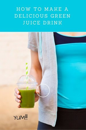 How To Make A Delicious Green Juice Drink