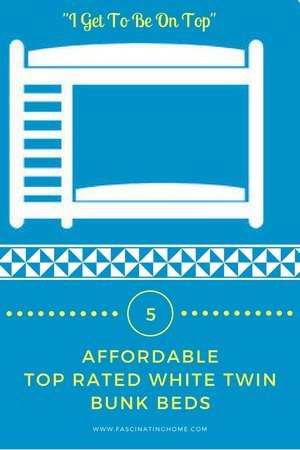 White Twin Bunk Beds – Space Saving and Affordable