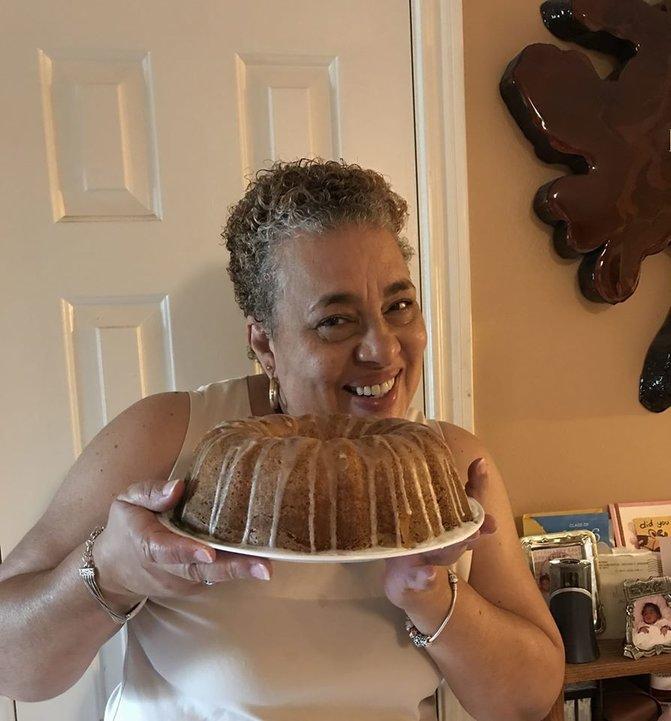 Delicious Pound Cake Made With KitchenAid Artisan Mixer