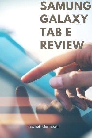 read mySamsung Galaxy Tab E 9.6″ SM-T560NZKUXAR Review