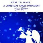 How To Make A Christmas Angel From Ribbon
