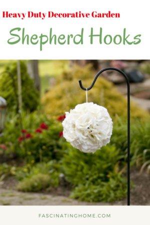 Heavy Duty Decorative Garden Shepherd Hooks