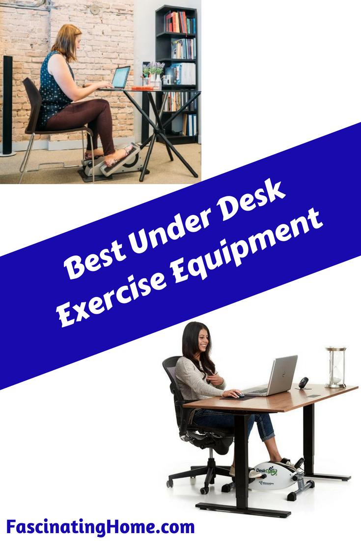 Best Under Desk Exercise Equipment – Bike or Elliptical?