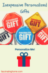 Inexpensive Personalized Gifts