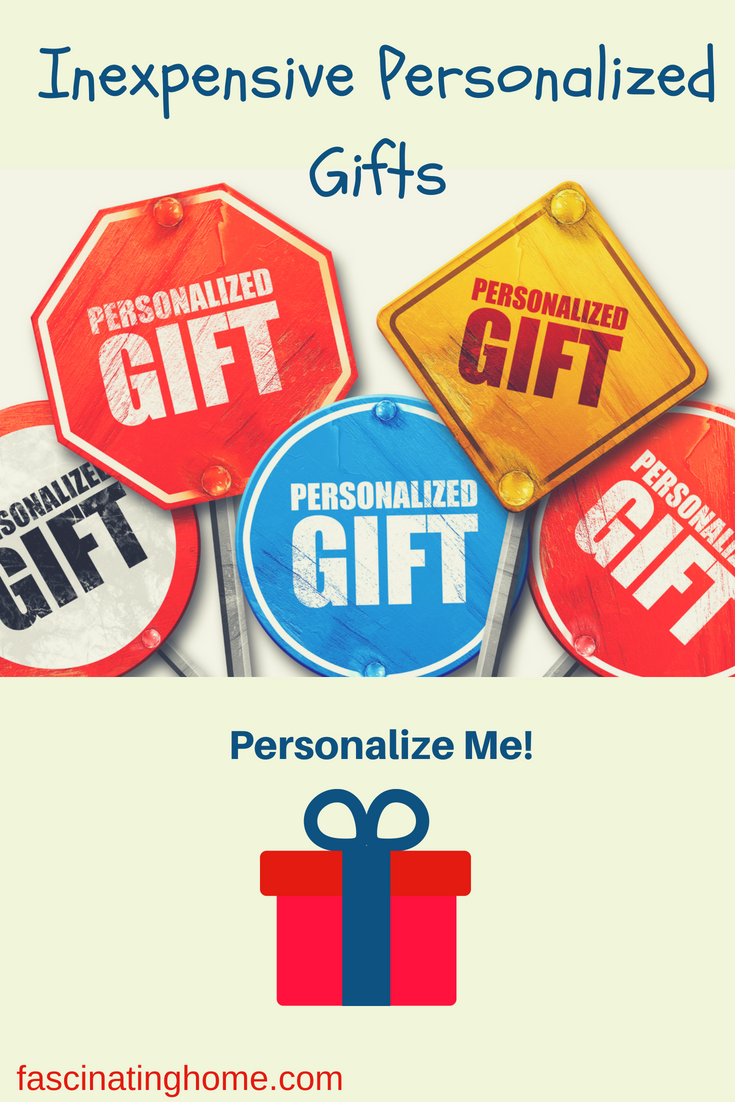 Inexpensive Personalized Gifts – Personalize Me!