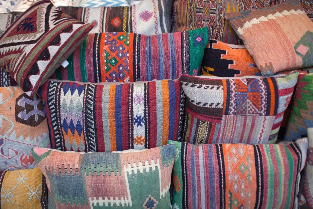 decorative kilim indoor outdoor lumbar pillow