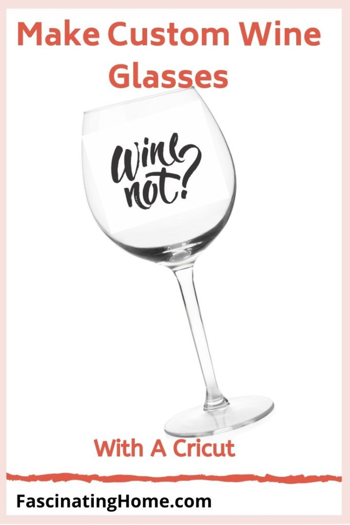make wine glasses with a cricut