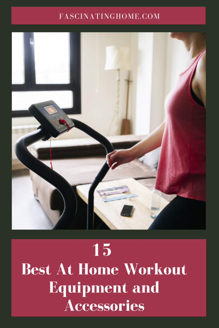 Best At Home Workout Equipment and Accessories