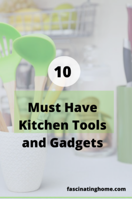 10 must have kitchen tools and gadgets