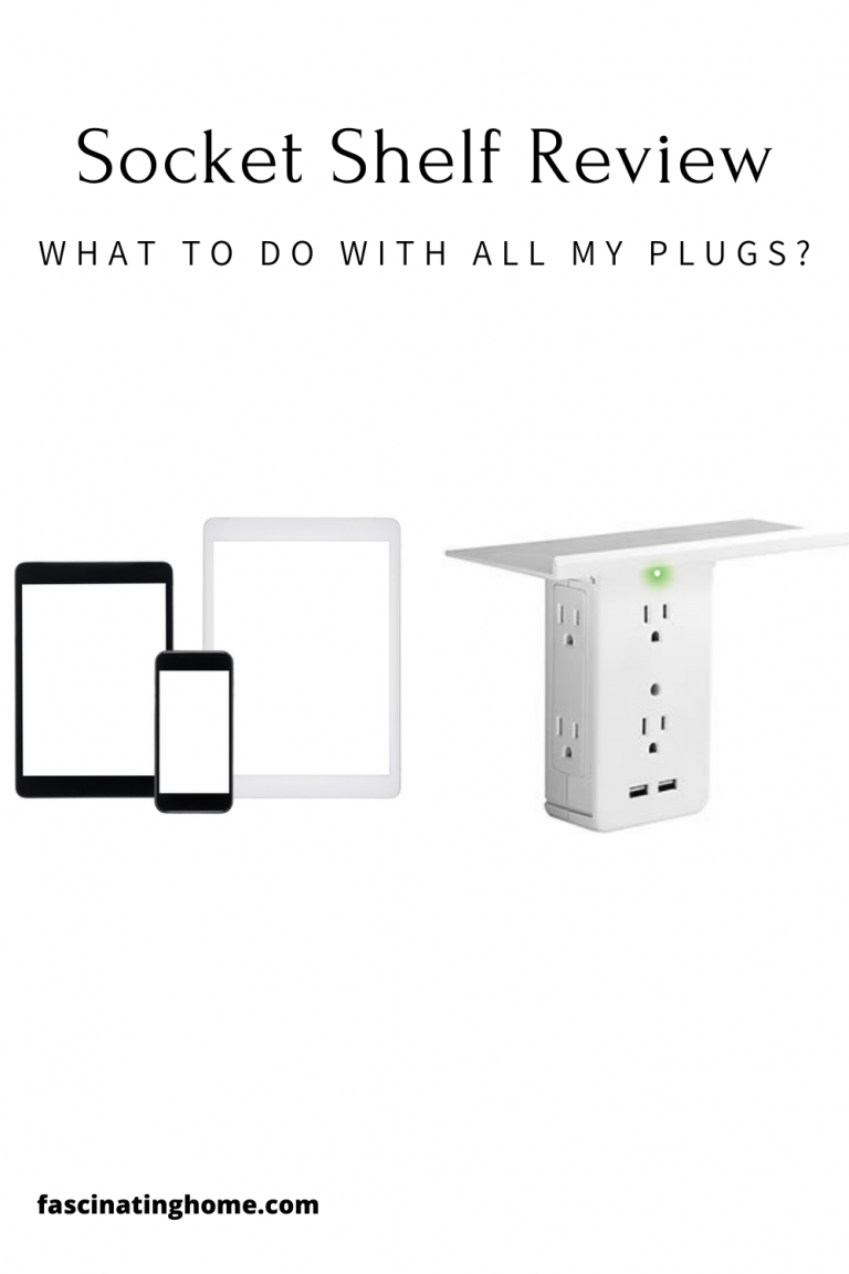 Socket Shelf Review – What To Do With All My Plugs?