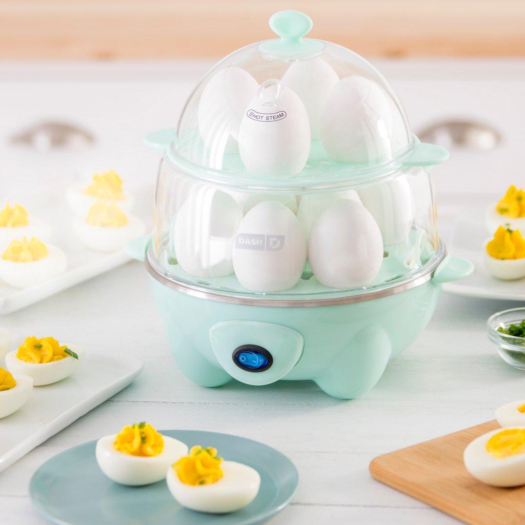 dash deluxe egg cooker dec012aq