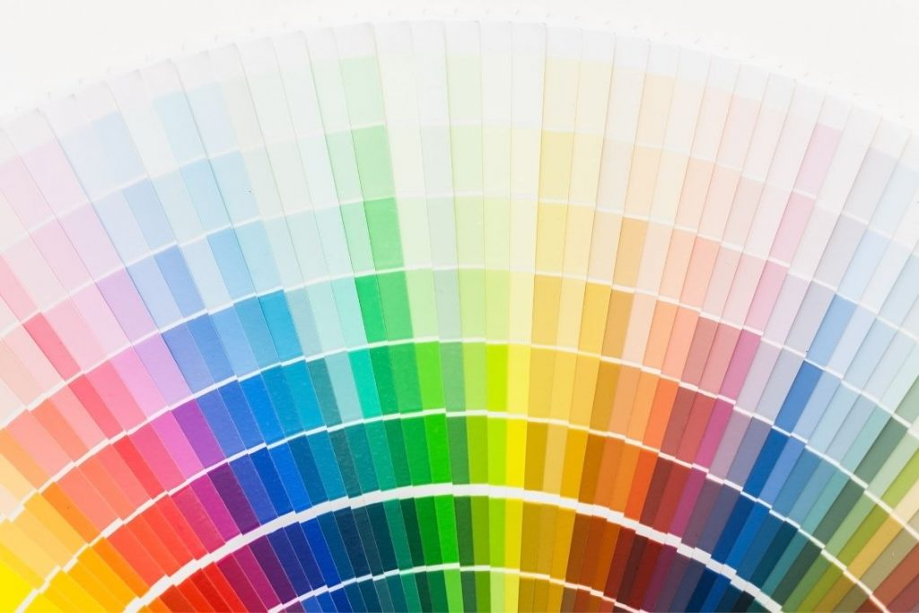 color pallette for home office